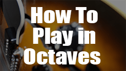 How to play in octaves Wes Montgomery style