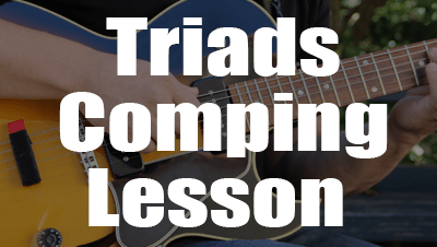 How to use triads lesson