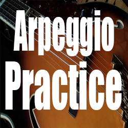 Arpeggio Practice - Four Exercises With Guitar Tabs