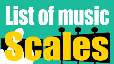 List of music scales