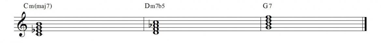 Ii v i chords 1