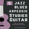Jazz blues arpeggios 5 studies carre