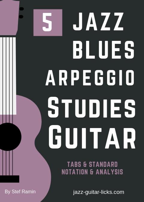 Jazz blues arpeggios 5 studies for guitar PDF