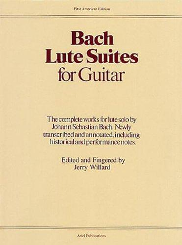 Lute suites for guitar by j s bach