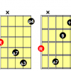 Major 11 chords