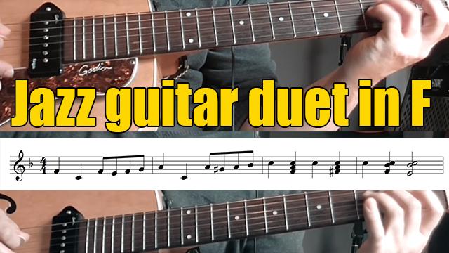 Miniature jazz guitar licks 2 5 3