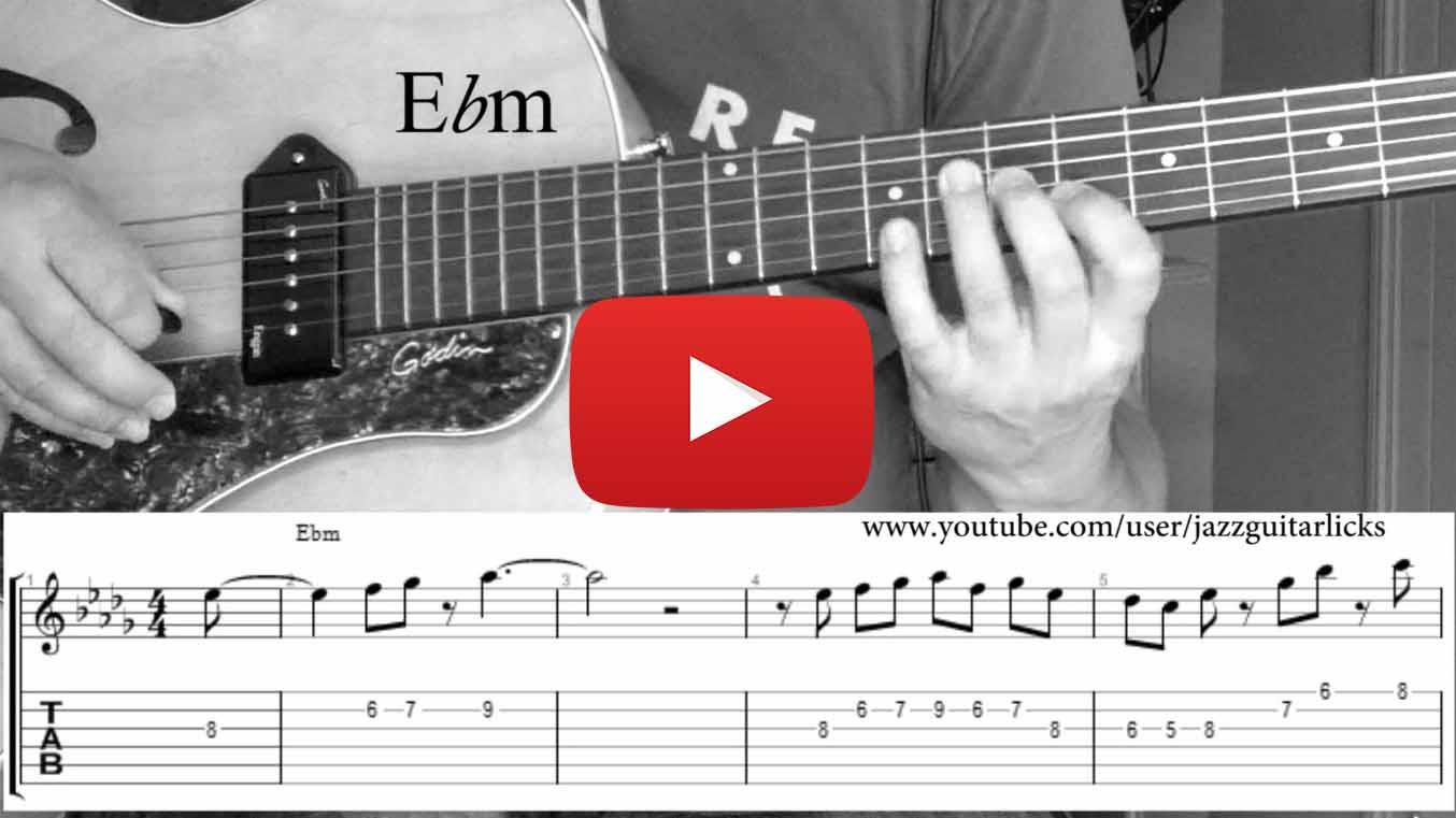 25 jazz guitar licks w...E Minor Triad Inversions