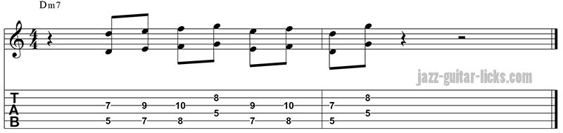 Octave guitar line 2