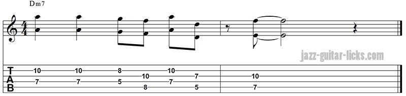 Octave guitar phrase