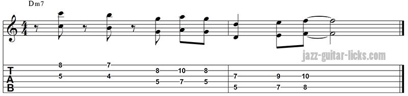 Octave guitar pattern