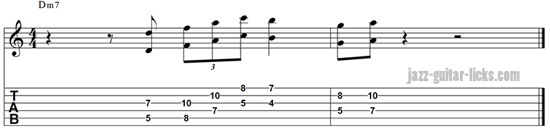 Octave lick for guitarist
