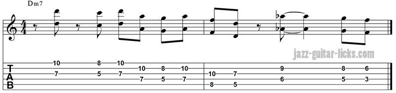 Octave lick guitar tab