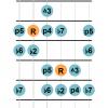Phrygian dominant mode guitar diagram 3