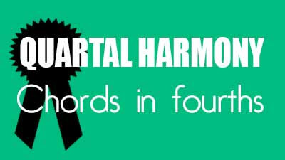 Quartal harmony - Chords in fourths