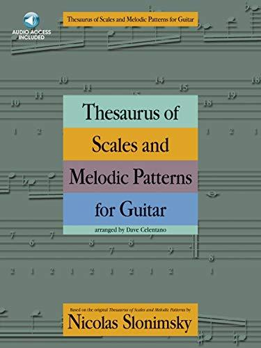 Thesaurus of scales and melodic patterns by nicolas slonimksy