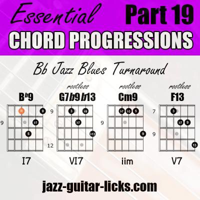 Turnaround guitar chord progressions 20
