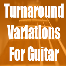 Turnarounds for guitar