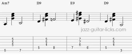 Walk Guitar Exercise