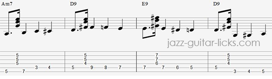 Walk Guitar tab