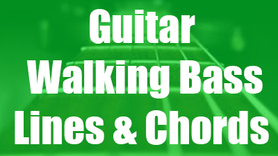 Walking bass guitar lessons