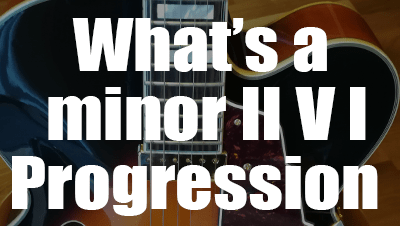 What is a minor ii v i progression min