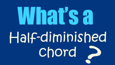 What is a half diminished chord